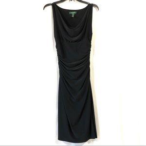 Lauren Ralph Lauren Ruched Little Black Dress